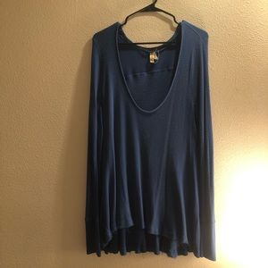 Free People Scoop Neck Thermal